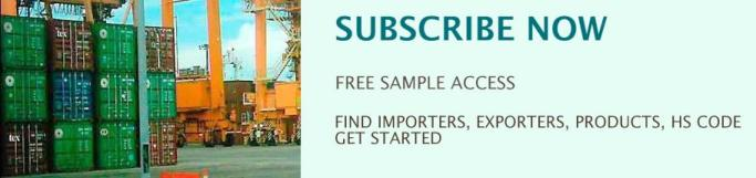 FIND IMPORTERS, EXPORTERS, PRODUCTS, HS CODE